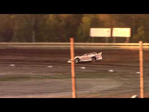 Hummingbird Speedway (9-7-19): BWP Bats Super Late Model Heat Race #1