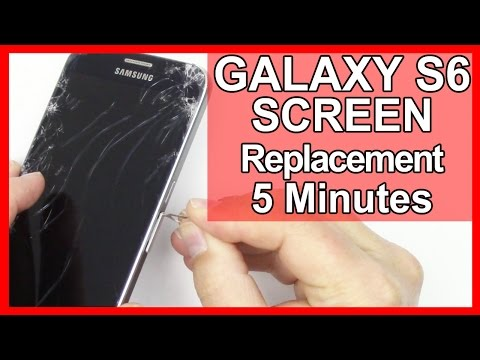 How To Replace Galaxy S6 Screen Replacement in 5 Minutes