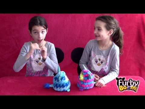Furby Boom! Explained in ASL - American Sign Language - By Two Deaf Twins