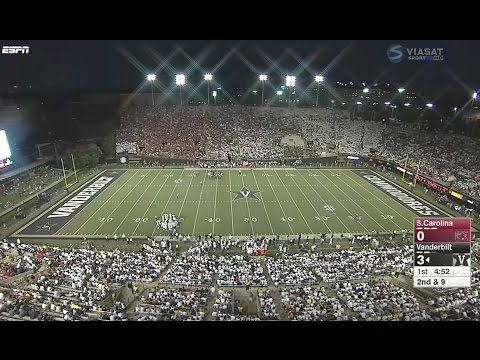 South Carolina vs Vanderbilt 2016