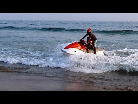 Jet Skiing - Water Sports at Puri Beach - Odisha Tourism