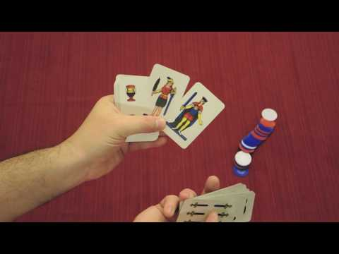SCOPA Card Game Quick Walkthrough w/ Doron