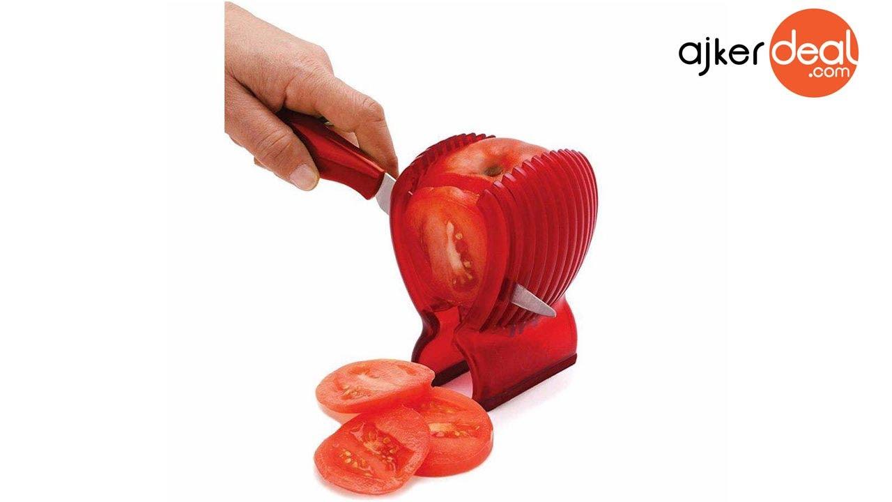 tomato slicer for kitchen easy tomato slicer in bd ajkerdeal