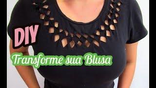 DIY : Customização de Blusas
