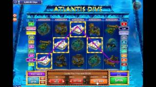 Atlantis Dive Slots Game GP Suite CASINOJR.COM/V2