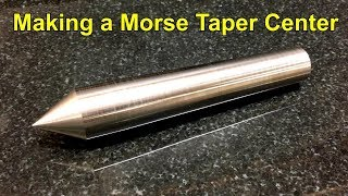 making a 3 morse taper center
