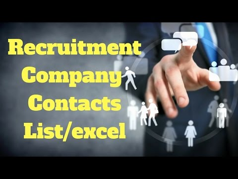 UAE Recruitment contacts plus Important info about agency