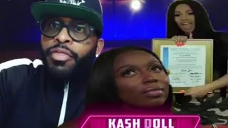 Kash doll Reacts To Cardi B spirit of Detroit award comments Royce da 59 responds