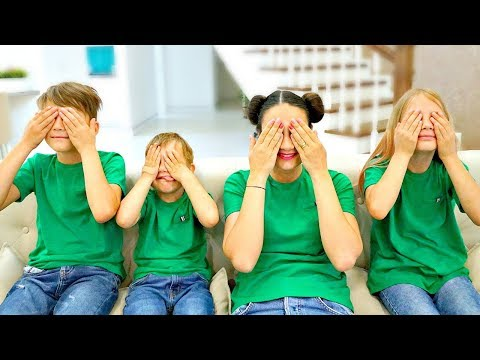 Hide and seek Color Song   Learn Colors Nursery Rhymes   Mommy, Jason and brothers & Kids Songs