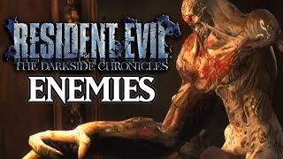 Resident Evil Darkside Chronicles - All Enemies Compilation [Wii]