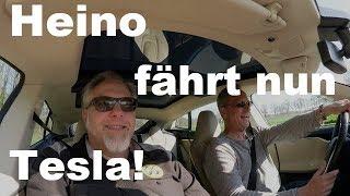 Heino fährt nun Tesla!