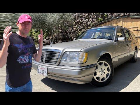 Mercedes W124 / Уникальная находка в США ! Обзор