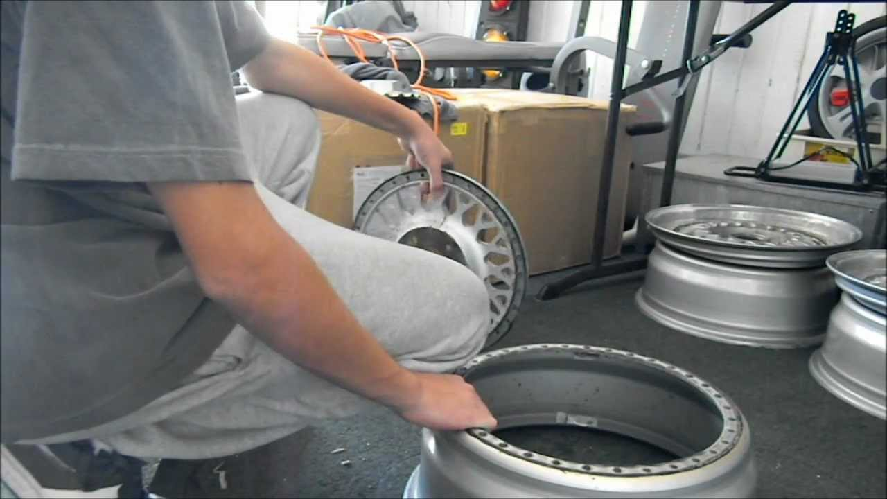 Refinishing 3 Piece Wheels Disassembly Youtube