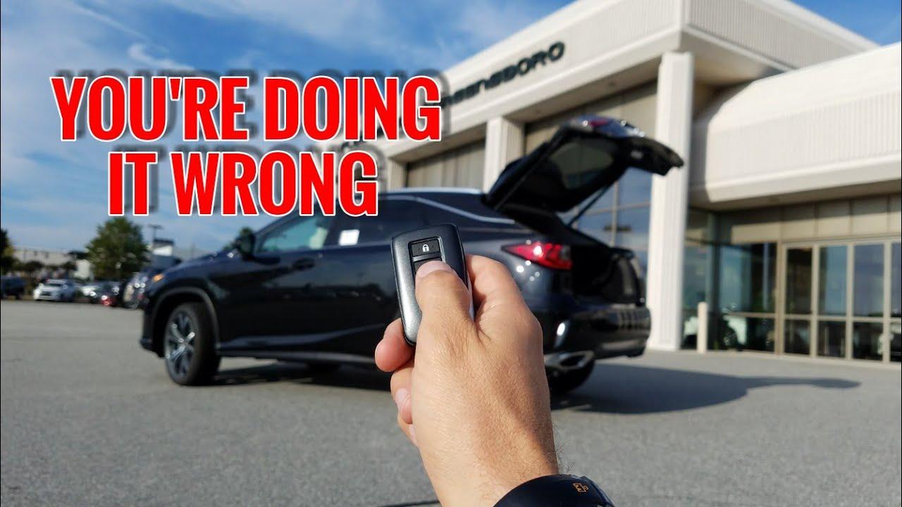 5 secrets about the lexus rx 350 power rear door [ 1280 x 720 Pixel ]