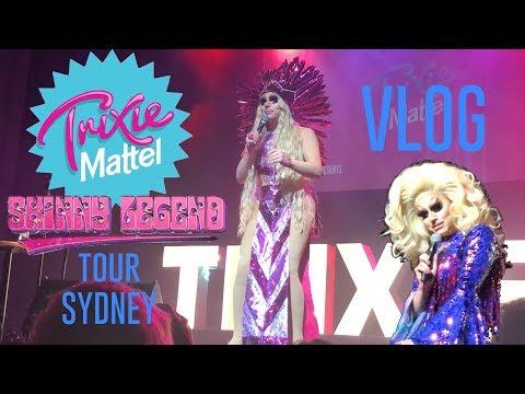 "Trixie Mattel ""Skinny Legend"" Tour Sydney VLOG - Elise Wheeler"