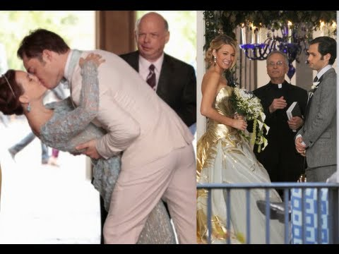 Serena vs Blair Gossip Girl Weddings  YouTube