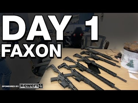 Faxon Firearms Factory Tour - The Road to Shot Show - Day 1