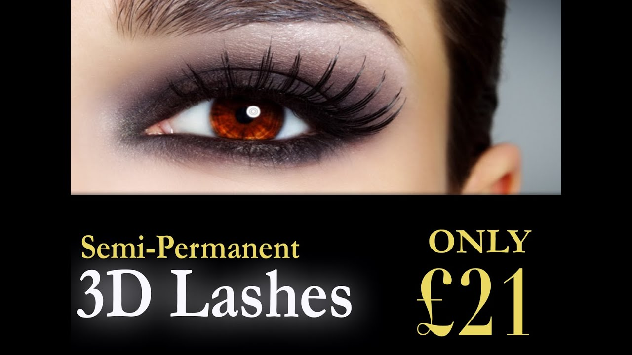 3ee9303daf5 Bee Beautiful £21 for a full set of 3D semi permanent eyelashes ...