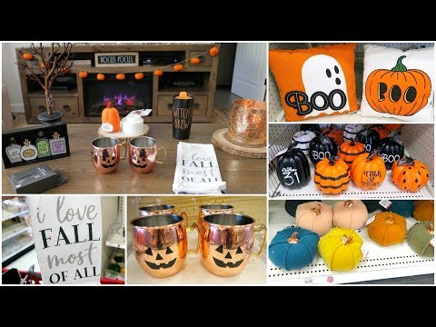 Target Dollar Spot Fall and Halloween Decor Shop With Me + Haul