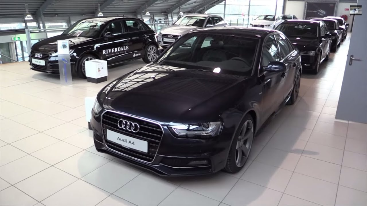 audi a4 s line 2015 in depth review interior exterior youtube. Black Bedroom Furniture Sets. Home Design Ideas