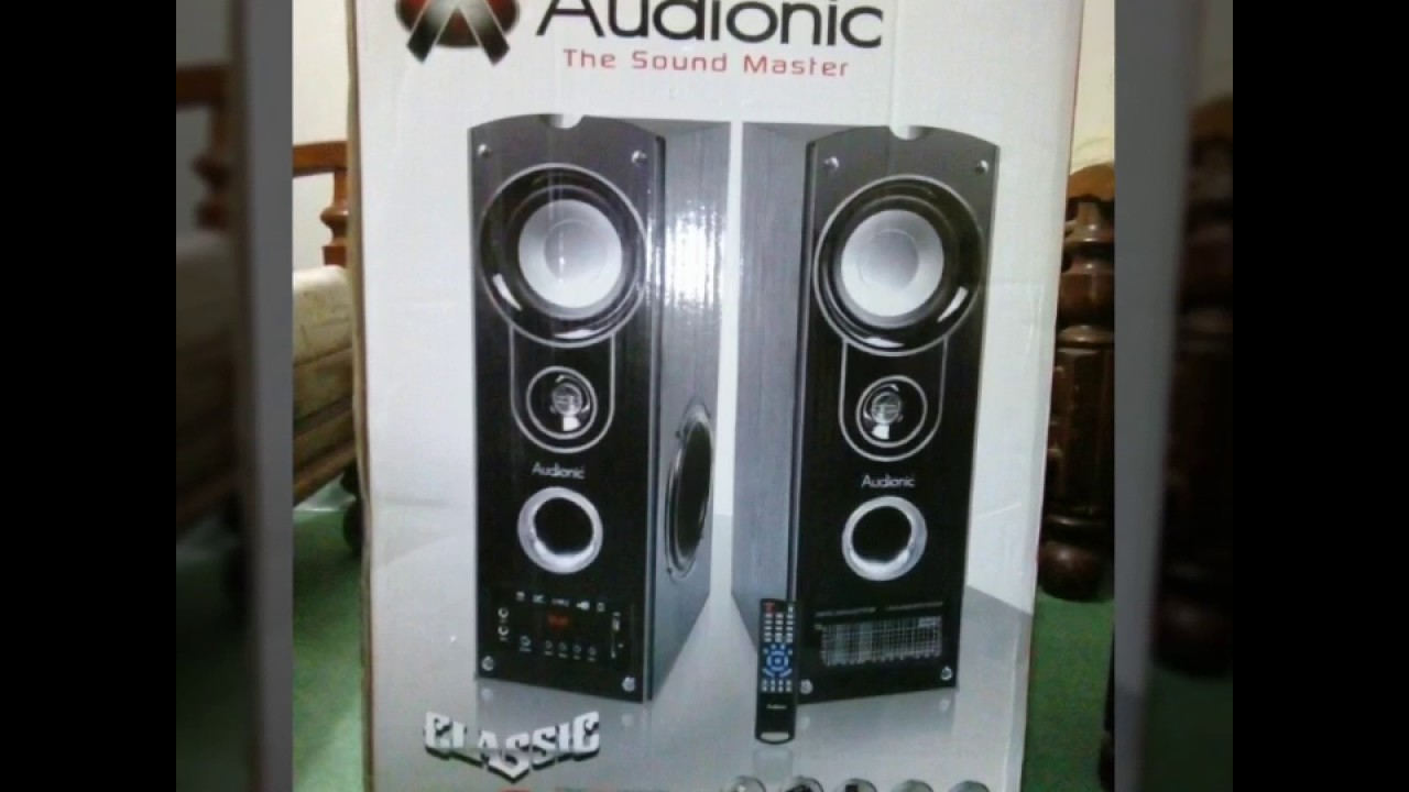 Audionic Classic 6 Woofers Speakers Unboxing Youtube