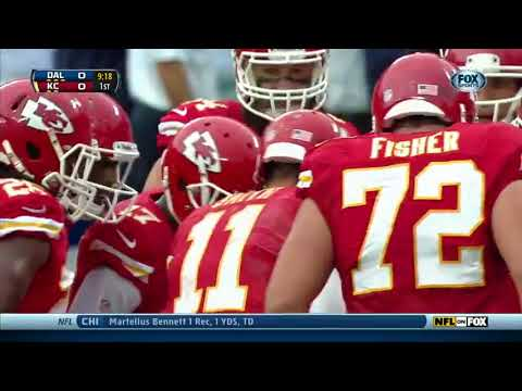 Throwback to Alex Smith's First Game at Arrowhead as a Chief. Going to Miss Seeing Alex Play This Season, Great Person and a Great Role Model