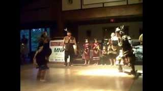 The Grand Exit Song & Dance Quw utsun Tzinquaw Boys