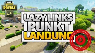 """PUNKT""-LANDUNG in Lazy Links - ♠ Fortnite Battle Royale: Playground ♠ - Deutsch - Dhalucard"