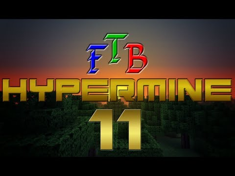 Minecraft Feed The Beast - Hypermine - Ep 11 - Tree House Trial and Error