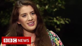 Twin describes saving her sister during crocodile attack - BBC News