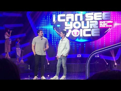 James Reid as special guest of I Can See Your Voice January 16, 2018