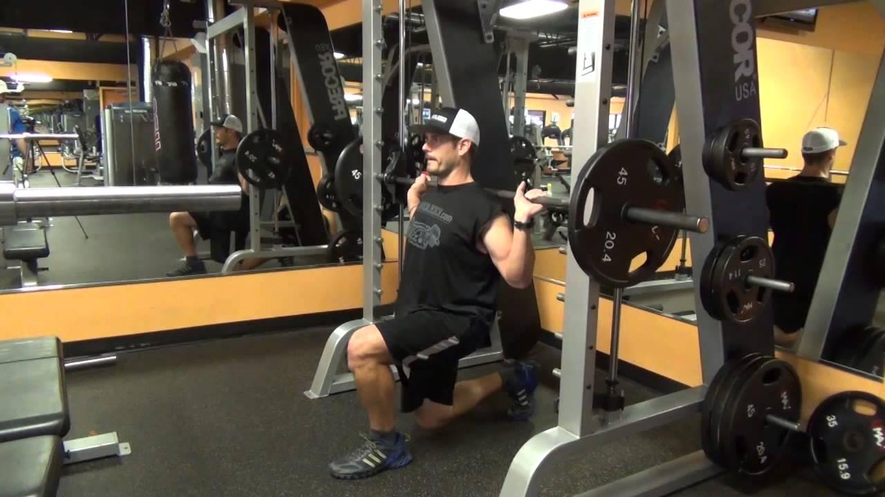squats on the smith machine
