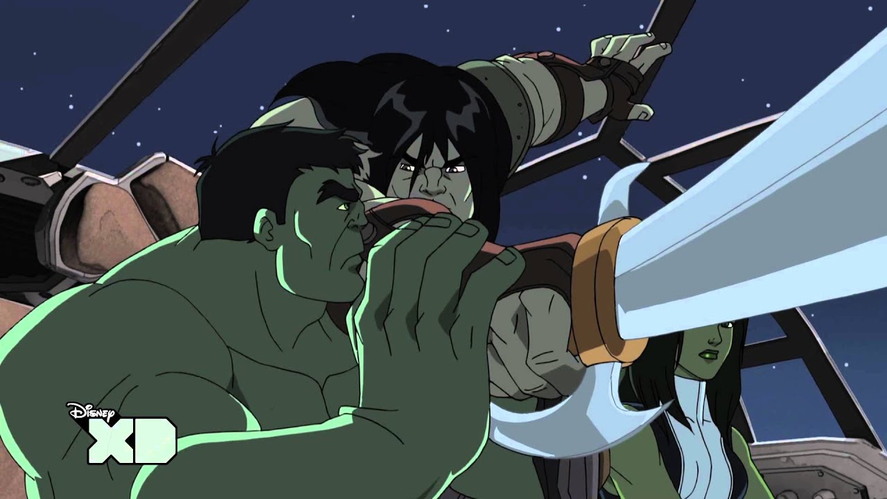 Download Hulk and the Agents of S.M.A.S.H. |  The Skaar Whisperer | Disney XD