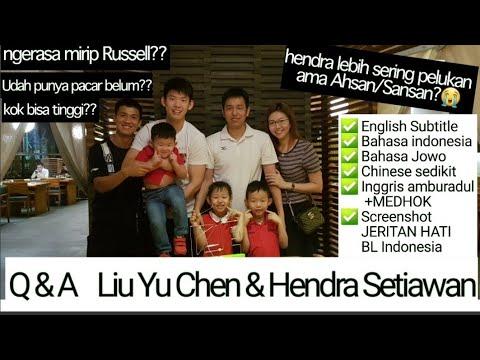 Q&A With Liu Yu Chen & Hendra Setiawan - RYUCHEN SETIAWAN Is BACK 😂 Eat&Laugh Together, English Sub