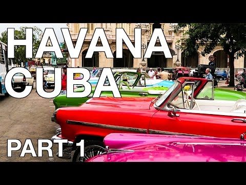 Trip to Havana, Cuba  - Part 1