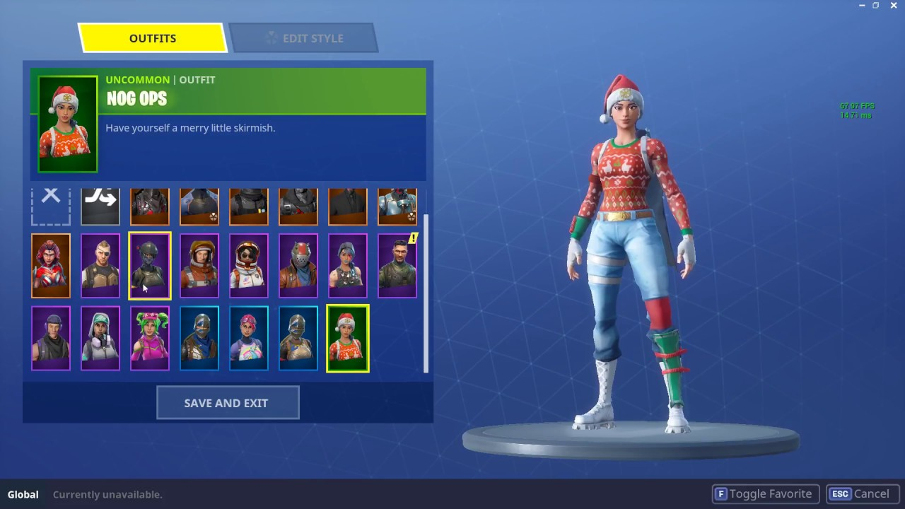 fortnite account christmas skins christmaswalls co 1280 x 720 jpeg 126kb - alts4u fortnite accounts