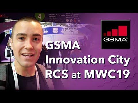 GSMA Innovation City - RCS at Mobile World Congress 2019