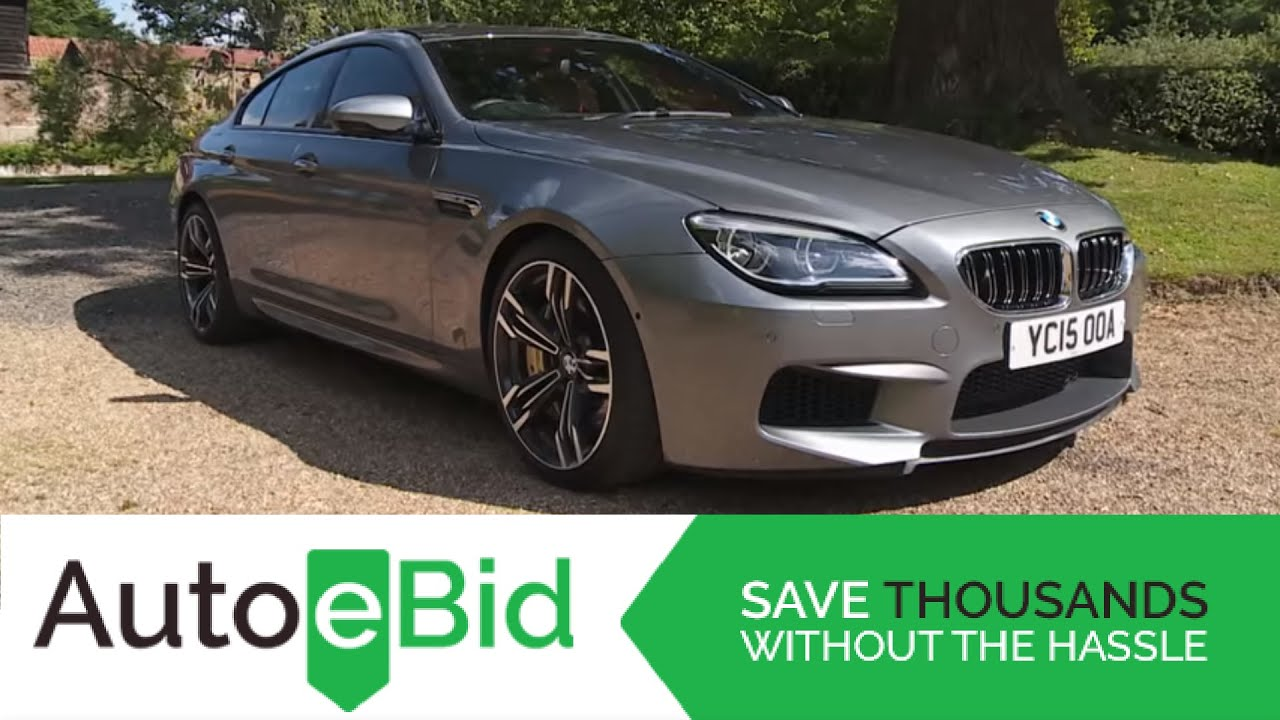 BMW M6 2016 Video Review AutoeBid