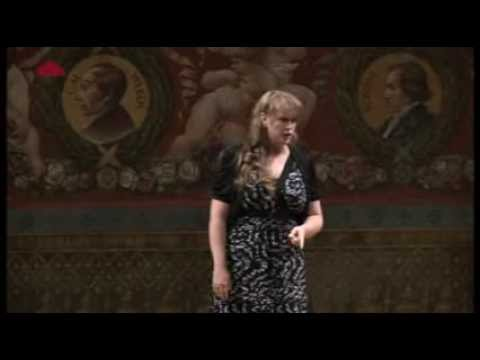 Rachel WillisSørensen sings Sibelius Flickan kom ifrån sin älsklings möte, Eytan Pessen, Piano