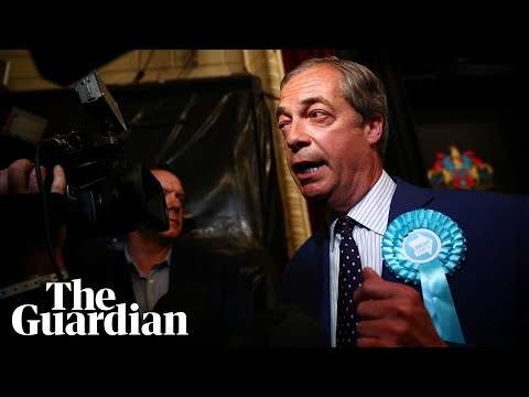 Nigel Farage: Brexit party win is big wake-up call to Westminster