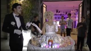 """""""השולחן המרקד"""" - מרלין מונרו משקאות וזוהרים - בר מצווה"""