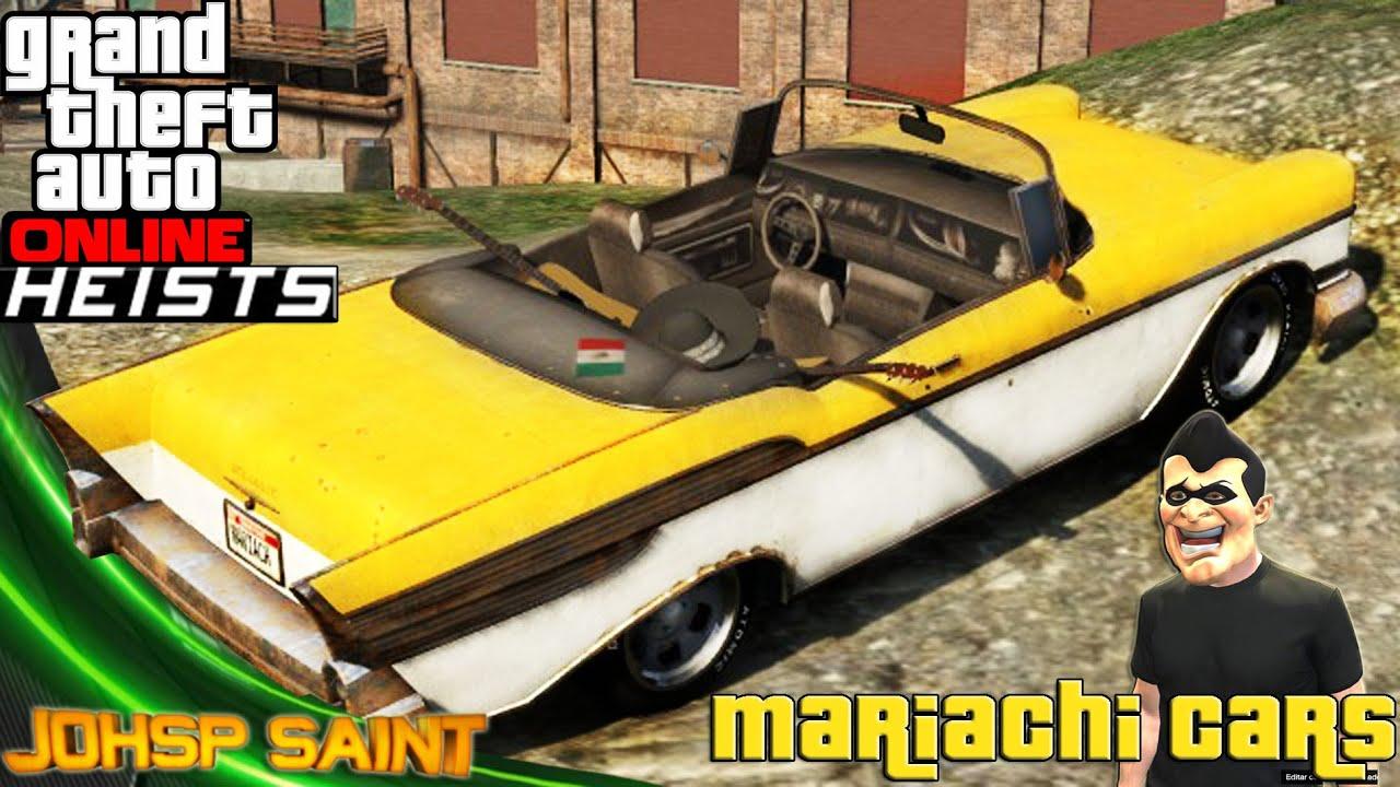 Gta  Mariachi Car
