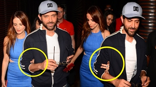 Sussanne Holds Hrithik Roshan's Hand In Public Confirms They Are Back Together