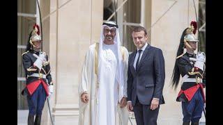 أخبار عربية | #محمد_بن_زايد يجري مباحثات مع الرئيس الفرنسي في باريس