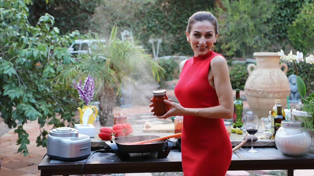 Паста Из Красного Перца - Рецепт от Эгине - Heghineh Cooking Show in Russian