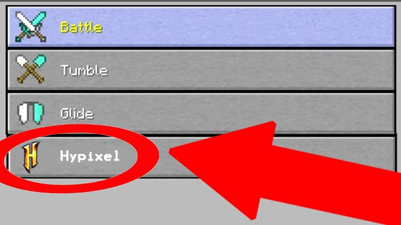 Minecraft Xbox - HYPIXEL Server Minigame