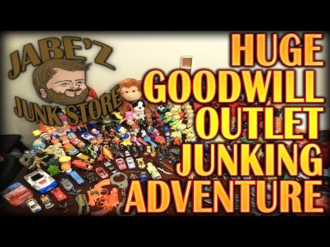 EPIC Goodwill Outlet Junk-Hunting Adventure Re-sell Vlog By JāBē'Z Junk Store