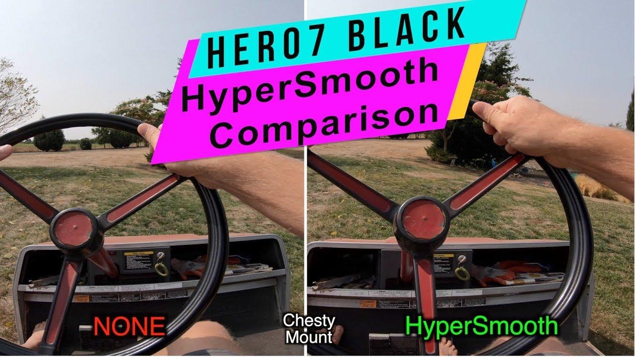 GoPro Hero 7 Black: HyperSmooth ON/OFF Comparison - GoPro Tip #615 |  MicBergsma