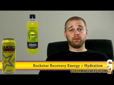 Rockstar Recovery Energy + Hydration Diet Lemonade Energy Drink Review