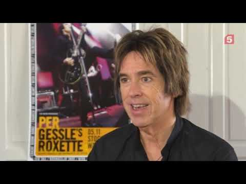 Per Gessle´s Roxette Interview For Russia Sep 2018